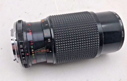 Mistaking 80-200mm f4.5 Zoom telephoto lens